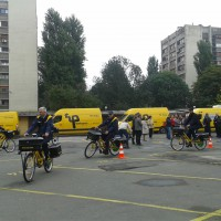 Official introduction of 180 e-bicycles in postal service