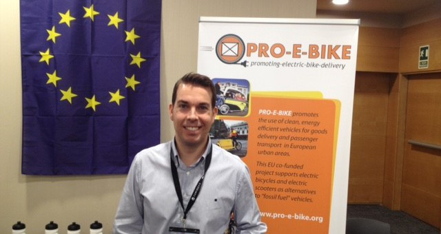 PRO-E-BIKE en la Conferencia Europea European Cyclist Logistics Federation Conference en San Sebastian